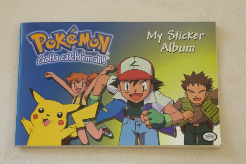 9781551775524: Pokemon My Sticker Album (Gotta Catch 'em All! Official Nintendo Licensed Product)