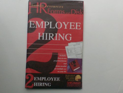 9781551801551: Hr-Employee Hiring Package Wdisk (Human Resources Forms and Disk Ser)