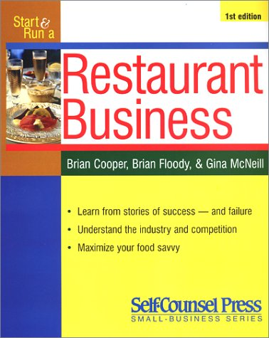 9781551802824: Start and Run a Profitable Restaurant (Start & Run a Business)