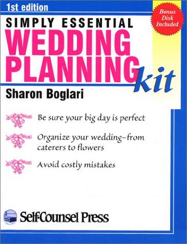 Simply Essential Wedding Planning Kit: Boglari, Sharon