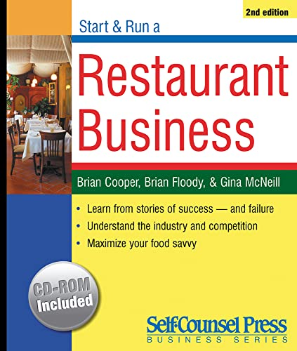 9781551806327: Start and Run a Restaurant Business (Start & Run a Business)