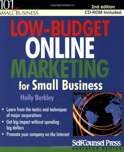 9781551806341: Low-Budget Online Marketing for Small Business (Self-Counsel Press Business)