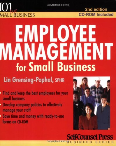 9781551806433: Employee Management for Small Business (Numbers 101 for Small Business)
