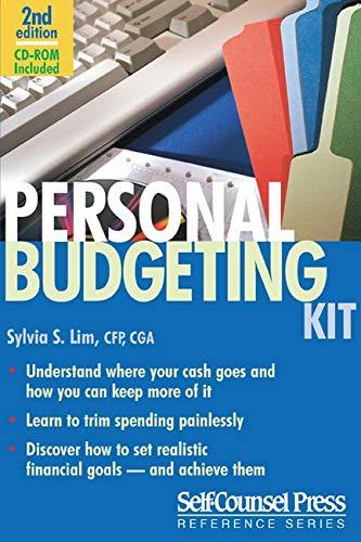 Personal Budgeting Kit (Self-Counsel Reference): Lim CFP CGA, Sylvia
