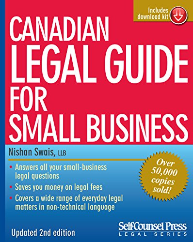 9781551807980: Canadian Legal Guide for Small Business