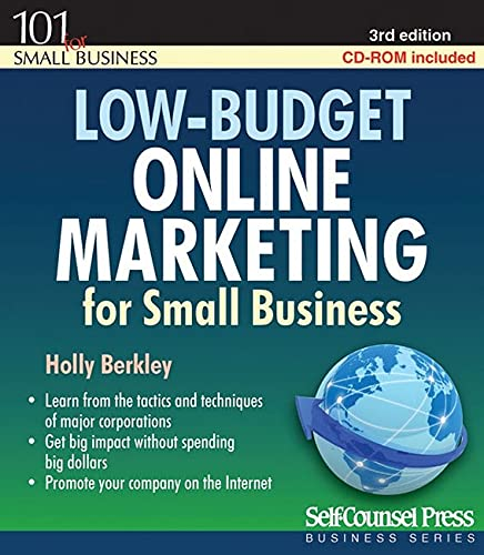 9781551808901: Low-Budget Online Marketing: For Small Business (101 for Small Business Series)