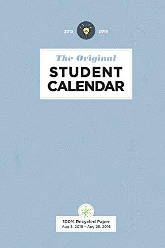 9781551860954: The Original Student 2015-2016 Calendar
