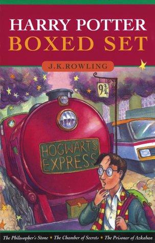 9781551922737: Harry Potter and the Philosopher's Stone, Chamber of Secrets, Prisoner of Azk...