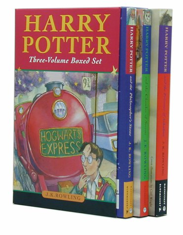 Harry Potter Three-Volume Boxed Set (Vol. 1-3) by Rowling