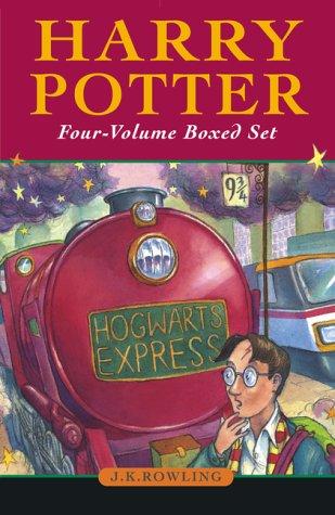 9781551925714: Harry Potter Boxed Set (Volumes 1-4)
