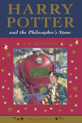 Harry Potter and the Philosopher's Stone (Magic Edition) (1551926121) by J. K. Rowling