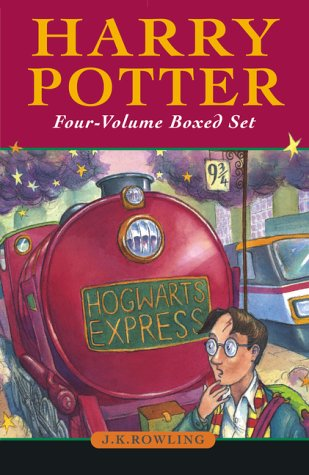9781551926766: Harry Potter Boxed Set (Volumes 1-4)