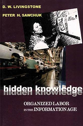 Hidden Knowledge: Organized Labour in the Information Age: Livingstone, D. W., Sawchuk, Peter