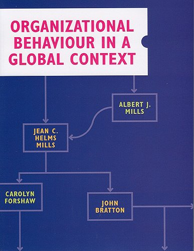 Organizational Behaviour in a Global Context: Albert J. Mills;