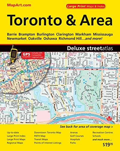 9781551982137: Toronto & Area Deluxe Street Atlas
