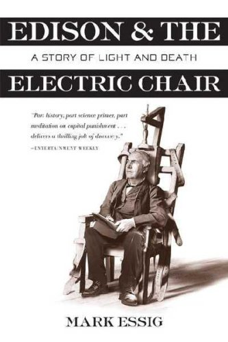 9781551991153: Edison and the Electric Chair: A Story of Light and Death