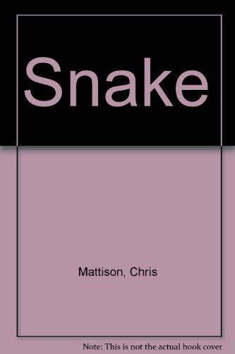 9781552094150: Snake