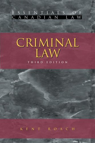 9781552210918: Criminal Law (Essentials of Canadian Law)