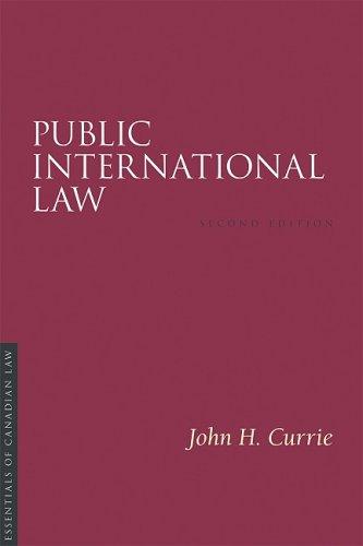 9781552211397: Public International Law, 2/E (Essentials of Canadian Law)