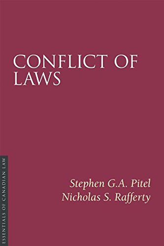 9781552211809: Conflict of Laws (Essentials of Canadian Law)