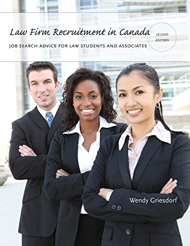Law Firm Recruitment in Canada (Paperback): Wendy Griesdorf