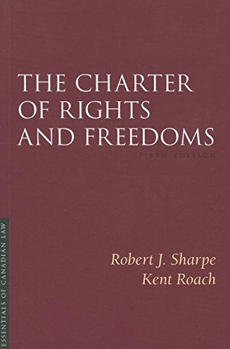 9781552213414: The Charter of Rights and Freedoms (Essentials of Canadian Law)