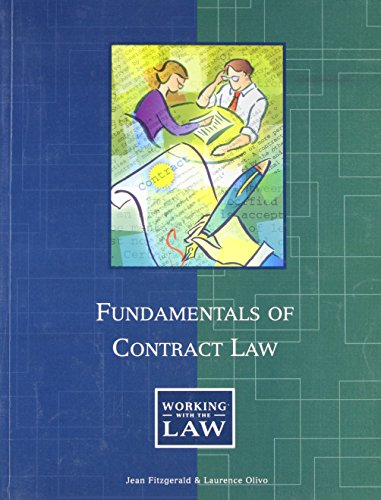 Fundamentals of Contract Law: Laurence M. Olivo;
