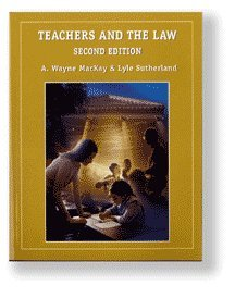 9781552392003: Teachers and the Law [Second Edition]