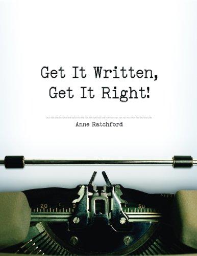 9781552393062: Get It Written, Get It Right!