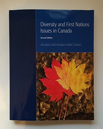 9781552394908: Diversity and First Nations Issues in Canada, Second Edition