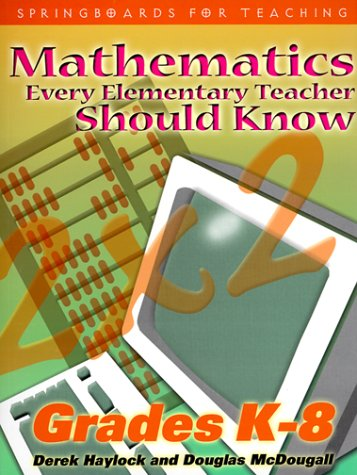9781552440124: Mathematics Every Teacher Should Know (Springboards for Teaching)