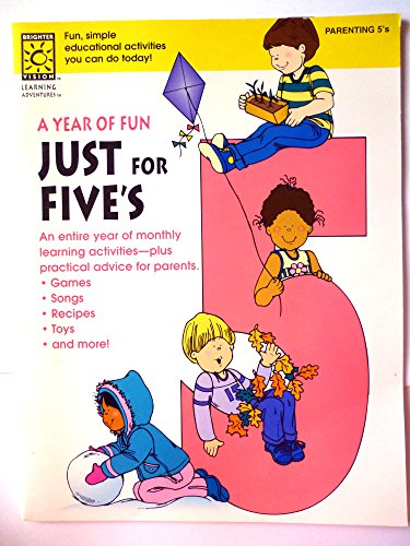 9781552540183: A Year of Fun for Your Five Year-Old (Year of Fun (Brighter Vision))
