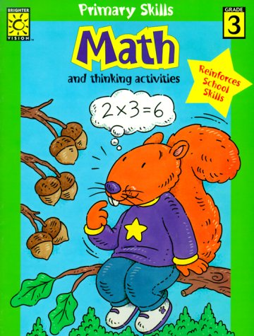 Math-3: And Thinking Activities (Primary Skills): Brighter Vision