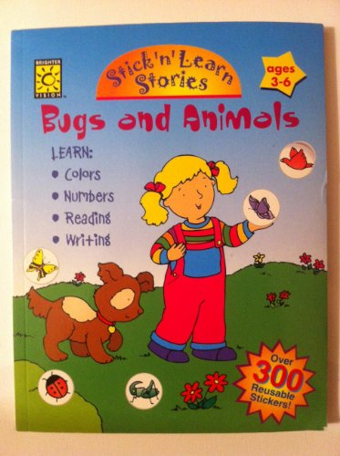 Bugs and Animals (Stick 'n Learn): Brighter Vision