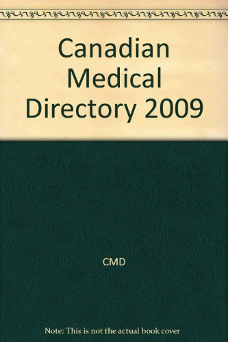 9781552571828: Canadian Medical Directory 2009