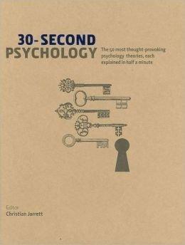 9781552675618: 30-Second Psychology