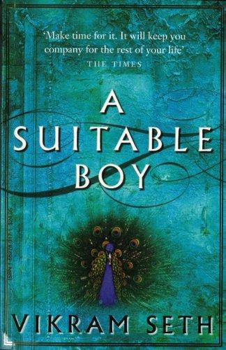 a suitable boy: Vikram Seth