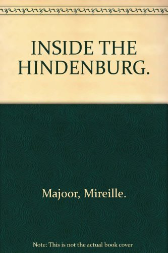 9781552781487: Inside the Hindenburg