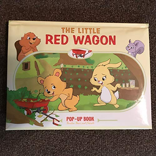 9781552807972: Little Red Wagon Pop-Up Book: Bendon Bear and Friends