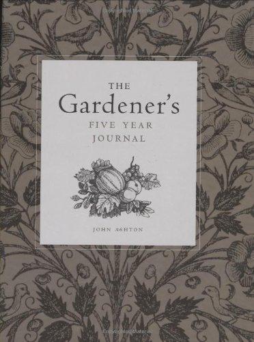 9781552853429: The Gardener's Five Year Journal
