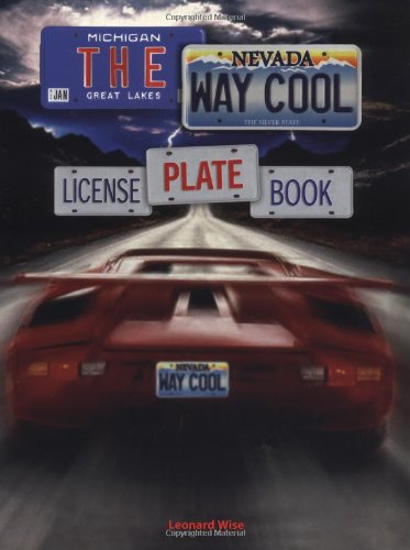 9781552975633: The Way Cool License Plate Book