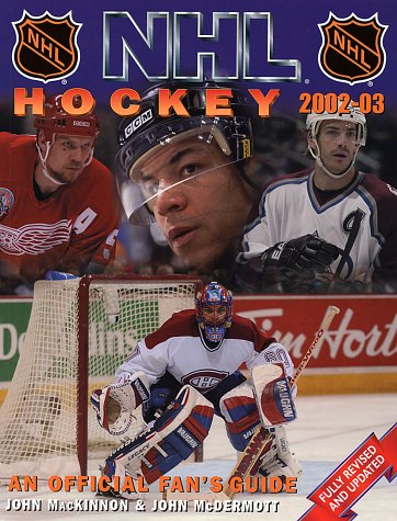 9781552976623: NHL Hockey: An Official Fans' Guide 2002-03