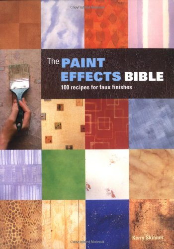 9781552977187: The Paint Effects Bible: 100 Recipes for Faux Finishes