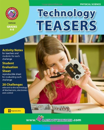 Technology Teasers (Grades 4-8) (1553191625) by Rob Nelson