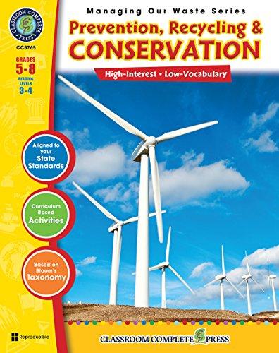Waste Management - Prevention, Recycling, Conservation (Managing: Erika Gombatz