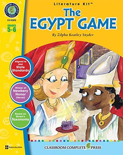 9781553193357: The Egypt Game LITERATURE KIT