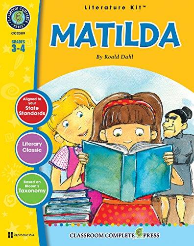Amazon. Com: matilda novel study guide gr. 3-4 classroom.