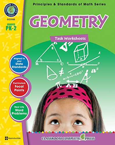 9781553194606: Geometry - Task Sheets Gr. PK-2 (Principles & Standards of Math) - Classroom Complete Press