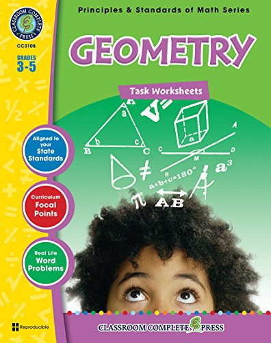9781553194668: Geometry - Task Sheets Gr. 3-5 (Principles & Standards of Math) - Classroom Complete Press