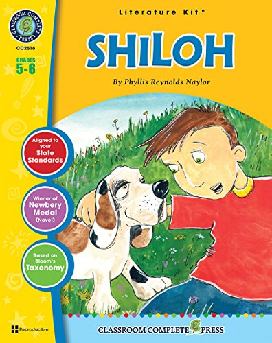 9781553194880: Shiloh - Novel Study Guide Gr. 5-6 - Classroom Complete Press